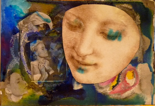 """the fascination of beauty"" Collage by Julie Seyler"