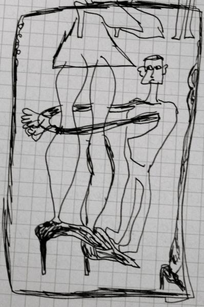 tall woman