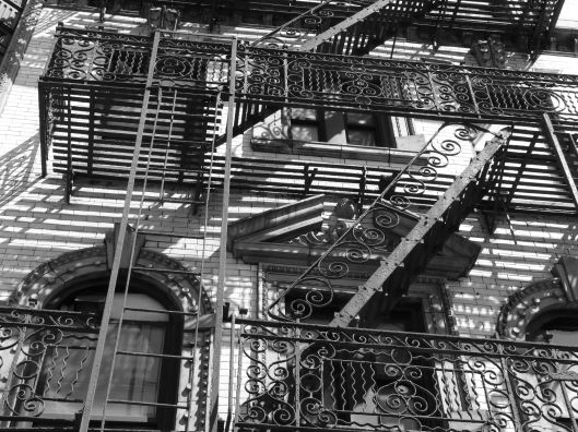 Fire escape confusion