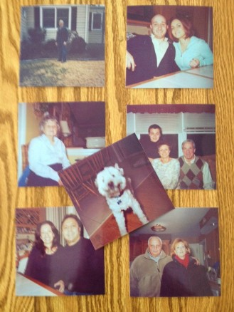 Family photos, courtesy of the Duaflex.
