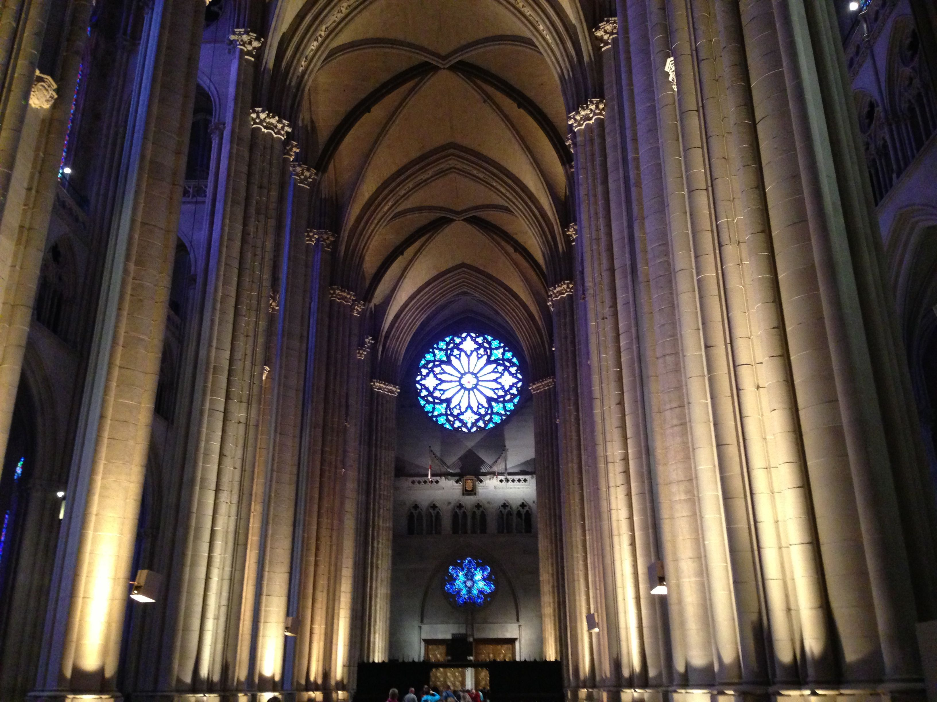 an analysis of the cathedral of st john the divine The symphony transcriptions calling all  katherinenkirche, oppenheim, cathedral of st john the divine,  musical analysis by gerard.