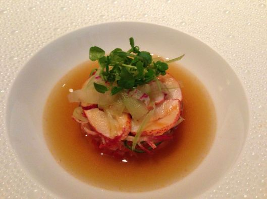 Lobster timbale at Le Bernadin