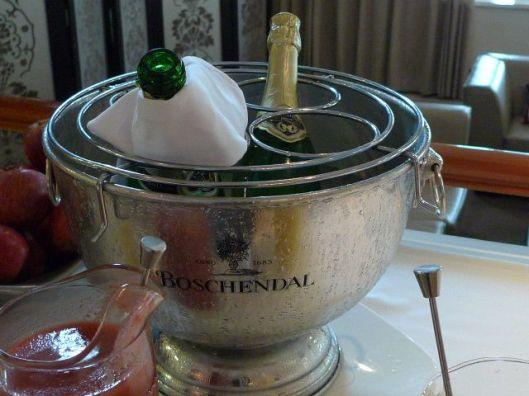 Champagne to celebrate!