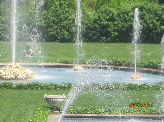 The Water Garden.