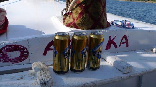 Egyptian beer.