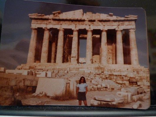Me at the Parthenon. 1983