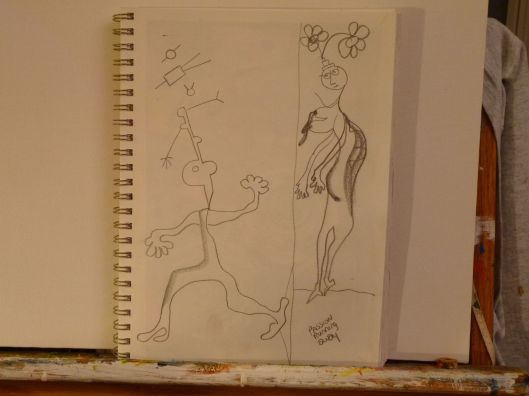 Drawing by Julie Seyler.