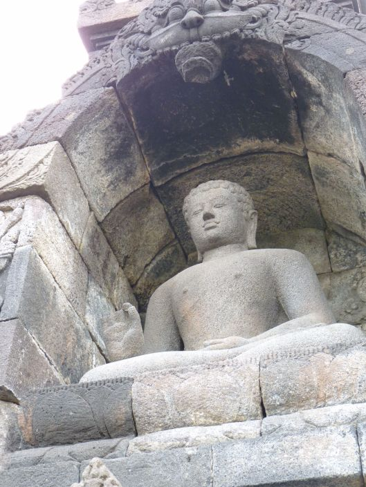 North facing Buddha
