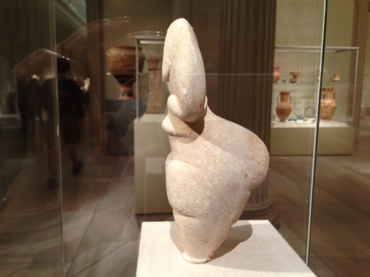 Marble female figure 4500-4000 B.C.
