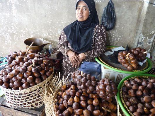 Sala seller Yogyakarta, Java