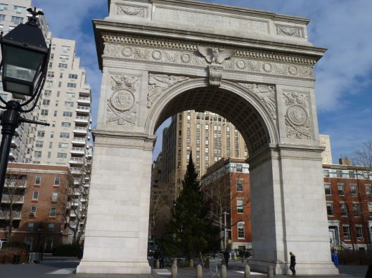 Washington Square Park.
