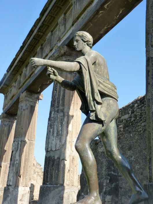 Apollo in the Forum in Pompeii