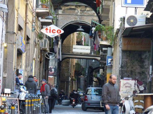 Entering the Decumani