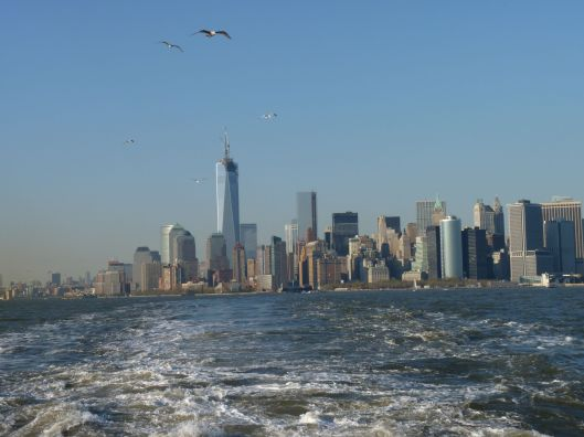 NYC Skyline from the Staten Island Ferry