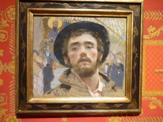 Francesco Paolo Michetti Self-Portrait 1877