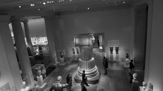 At the Met.