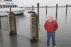 Bob on dock