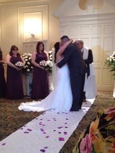 Frank wedding article