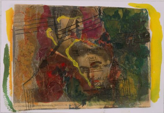 Fred and Barbara. Mixed media. Julie Seyler