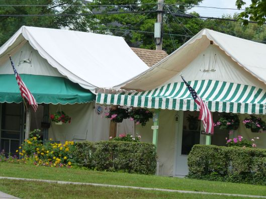 Tent homes. Ocean Grove, NJ