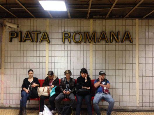 Subway station. Bucharest, Romania. 10.2.14