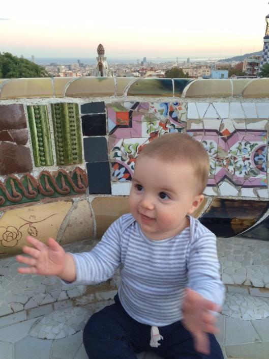 Bryce loves Barcelona!