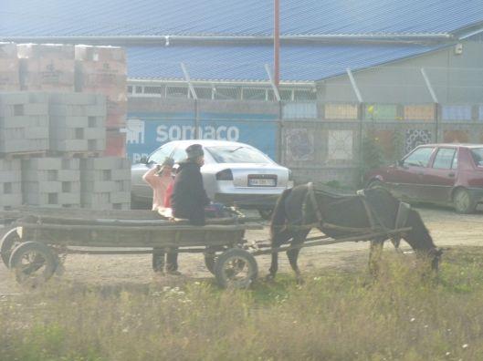On the way to Suceava, Moldavia.