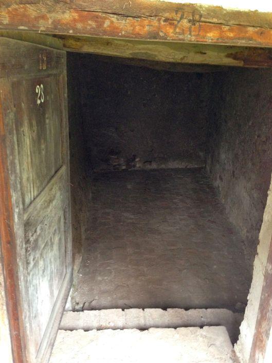 Inside a housing unit