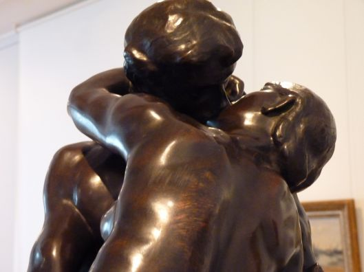 Le Baiser by Rodin. National Gallery of Art, Romania.