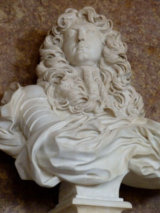Louis by Gian Lorenzo Bernini.
