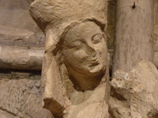 Statue of the Virgin, 13th c. Ste. Germaine des Pres