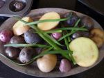 Chive potatoes