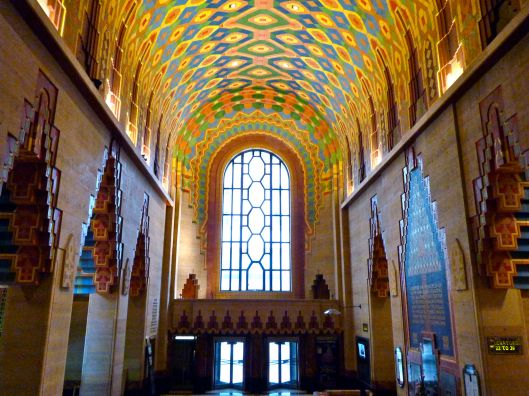 Interior of the Guardian Building.