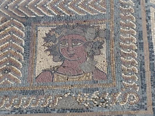 Mosaic floor from Conimbriga. Circa 2nd c.
