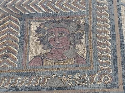 Mosaic floor from Conimbriga. Circa 2nd c.