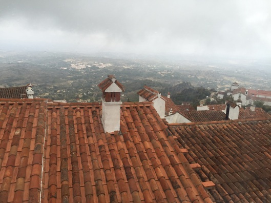 Cloudy morning in Marvao