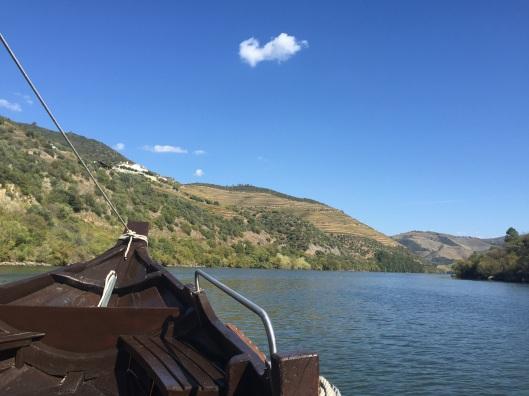 Boat ride up the Rio Douro.