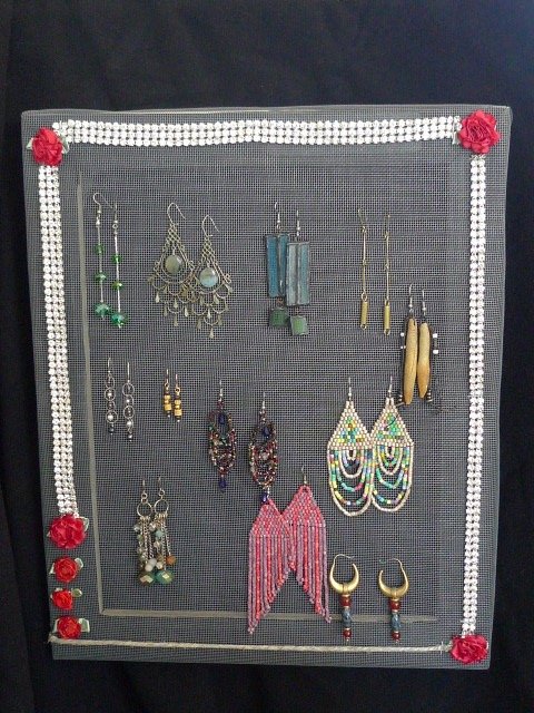 Earring trees, The Nesting Rack (tm), Julie Seyler