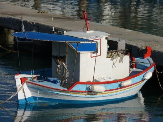 Docked boat. Kardamena, Kos.