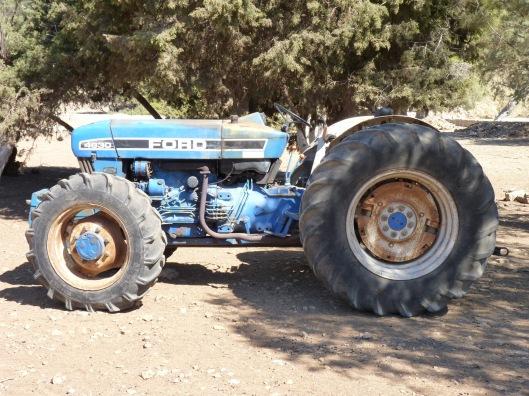 Tractor Symi Greece