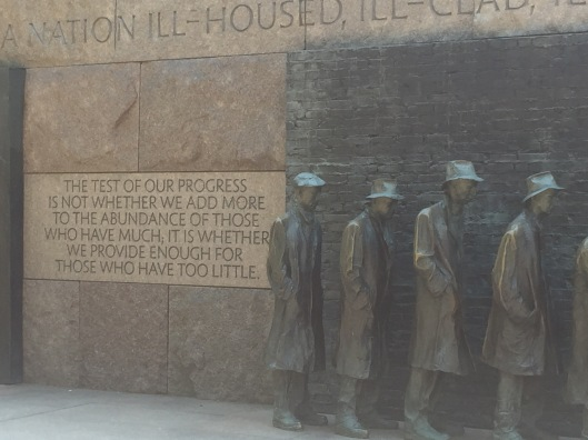 FDR Memorial, Washington, D.C.